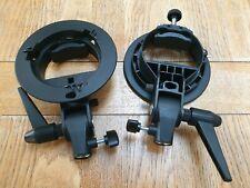 2 x Godox Bowens S-Type Bracket for softbox