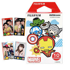 Fujifilm Instax Mini Marvel Hero Kawaii Instant Camera Film 10 Photos - 7s 8 70