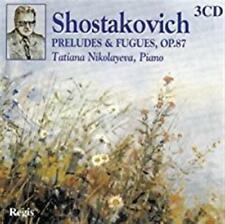 Shostakovich 24 Preludes & Fugues, Op. 87 Tatiana Nikolayeva, Piano