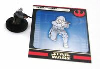 Star Wars Miniature: REBEL TROOPER # 11A11