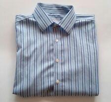 Charles Tyrwhitt Dress Shirt Striped Non Iron Size 17