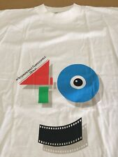 Film Festival Berlin germany 40 deadstock shirt nos movie crew cast indie vtg