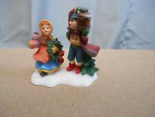 Santa's Workbench Collection resin accessory girl & boy 521-8342 figure 2000