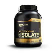 OPTIMUM NUTRITION ON GOLD STANDARD 5LB 100% ISOLATE WPI WPC WHEY PROTEIN ISOLATE