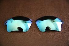 Polarlenz Polarized Ice Blue Lenti Di Ricambio Per Oakley Veloce Giacca XL