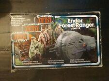 Star Wars Endor Forest Ranger Mini Rig Tri Logo Palitoy rotj vintage w/ box