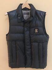 Roberto Cavalli Mens Black Padded Vest - Size 46