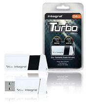 Integral Flash Drive USB 3.0 256GB White/Black