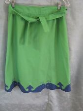 VTG The Silent Woman Wrap Skirt Size 18 Whales Whimsical Preppy USA Made