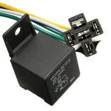 Car Auto DC 12V Volt 30/40A Automotive 4 Pin 4 Wire Relay & Socket 30amp/40amp*