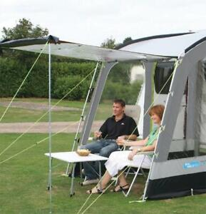 Kampa Universal Front Canopy Porch Tent Awning Upright Pole Set