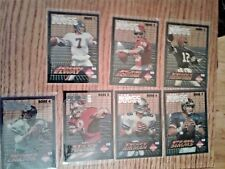 1994 NFL COLLECTOR'S EDGE : THE BOSS SQUAD SILVER FULL 25 PLASTIC CARD SET