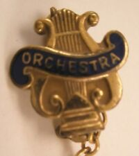 Orchestra Vintage Lapel Pin/Tie Tack sorority fraternity hs high school band
