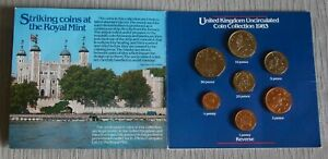 1983 HEINZ Royal Mint Uncirculated Coin Collection RARE & MINT