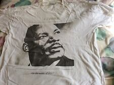 U2 Pride In The Name Of Love Vintage T Shirt XL Rare Used Martin Luther King MLK