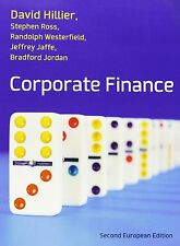 Corporate Finance European Edition by Hillier and Ross, Hillier, David, Used; Go
