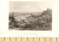 C1830 Antik Aufdruck ~ Lyons Von La Croix Rosse