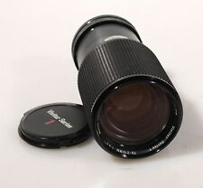 70-210MM F 3.5 CANON FD MOUNT W/ FRONT AND REAR CAPS