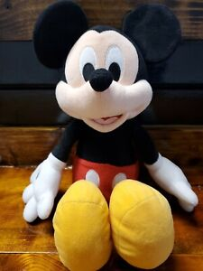 Mickey Mouse Plush Stuffed Doll Disney Store Authentic Original 14 In Excellent