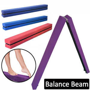 Foldable Gymnastics Balance Beam Folding Gym & Home Training Equipments Beams UK