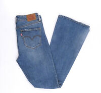 Levi's Levis Jeans High Rise Flare W28 L32 blau stonewashed 28/32 Bootcut -B1275