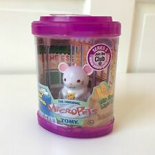 New! MICROPETS Tomy Original NACHO THE MOUSE Series 3 SEALED! 2003 Rare! HTF