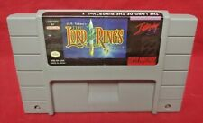 Lord of the Rings Vol. 1  - *Authentic* Super Nintendo SNES Game Works / Tested