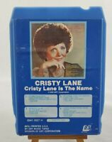 """Christy Lane """"Cristy Lane Is The Name"""" 8 Track Tape GRT Corp. #8341-8027 H 1978"""