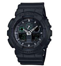 Casio G Shock *GA100MB-1A Anadigi XL Military Black w/ Green Gshock COD PayPal