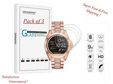 Michael Kors Bradshaw Smart Watch Glass Screen Protector HD Anti-Scratch 3 PACK-