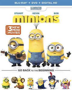 Minions (Blu-ray Disc, 2015, 2-Disc Set)