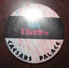 Vintage Ray Charles Caesars Palace Concert Pinback Button