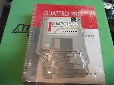 QUATTRO PRO for Windows  by Borland - 3.5 Disks & Manuals - Windows Version