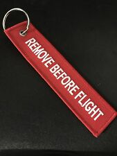 Key Chain Holder Remove Before Flight