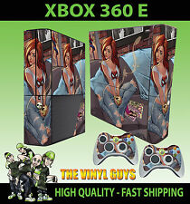XBOX 360 E Tinkerbell And Friends Fate Pixies Adesivo sottile & 2 x Pelli di Pad