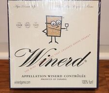 (NEW SEALED) WINERD ADULT PARTY FUN NIGHT BOARD GAME WINE TASTING GAMES