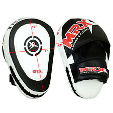 MRX Gel Focus Pad Hook & Jab Mitts Boxing Punch Glove MMA Muay Thai Kick 1 PIECE