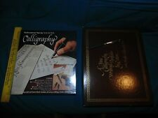 Calligraphy Kits Nononsense By Sheaffer & Eaton set - pens Cf pads lot