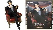 RAH Real Action Heroes #697 Levi Suit Version Figure Attack on Titan Medicom New