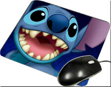 Inspired Disney Lilo And Stitch Toothless Mice Mousepad RK1 Mint Mads Pads