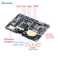 Dual Channel Stereo Bluetooth PAM8406 Micro USB Digital Power Amplifier Board