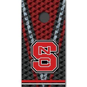 NC State Wolfpack Custom Cornhole Boards Wrap University Decal Custom Vinyl M342