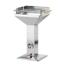 Stainless Hoppers Grill ERFURT 46 x 46 cm