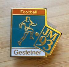 Pins de la société Gestetner : Football JM 93 (collection)
