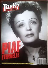 Tv K7 Special issue n°2; Piaf Eternal - special Piaf on 100 pages