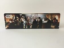 custom vintage star wars cantina bar backdrop for original grey display stand