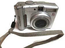 Canon Powershot A700 6.0 MP Digital Camera Silver 6x Optical Zoom Lens 2GB Card