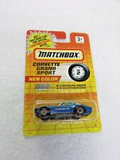 1991 Matchbox Corvette Grand Sport MB 2 New Color! Blue