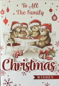ALL THE FAMILY CHRISTMAS CARD
