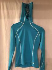 SUGOi Cycling Light Long Sleeve Pullover w/Hood XS Blue TS8